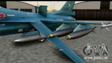 F-2A Viper Blue pour GTA San Andreas vue de droite