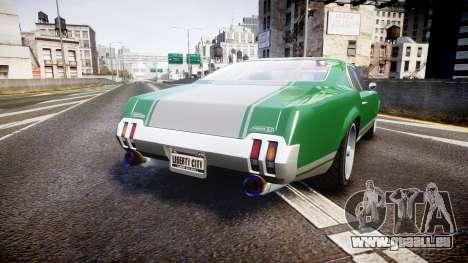 Declasse Sabre GT SS pour GTA 4 Vue arrière de la gauche