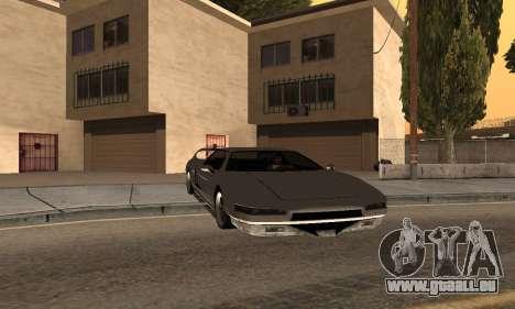 Infernus BanDit pour GTA San Andreas laissé vue