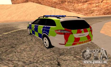 Ford Mondeo Kent Polizei für GTA San Andreas linke Ansicht