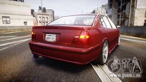 Emperor Lokus LS 350 Elegance für GTA 4 hinten links Ansicht