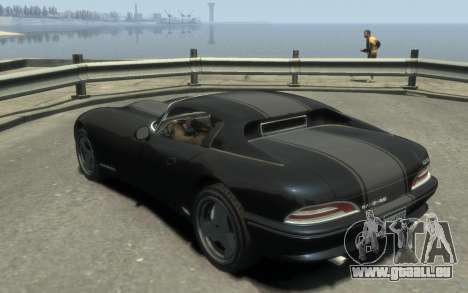 GTA 3 Bravado Banshee HD für GTA 4 linke Ansicht
