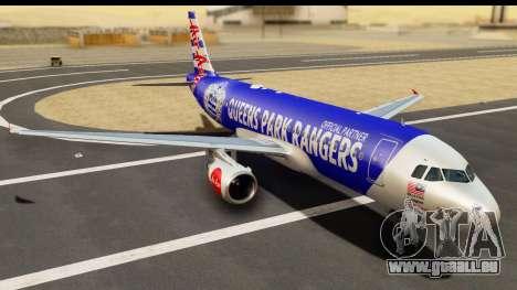 Airbus A320-200 AirAsia Queens Park Rangers für GTA San Andreas