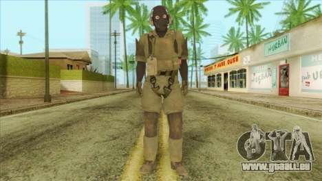 Metal Gear Solid 5: Ground Zeroes MSF v1 pour GTA San Andreas