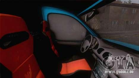 Renault Kangoo 2004 für GTA San Andreas Rückansicht