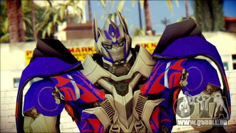 Optimus Prime Skin from Transformers für GTA San Andreas dritten Screenshot