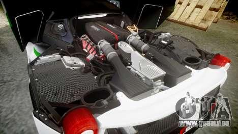 Ferrari LaFerrari 2013 HQ [EPM] PJ2 pour GTA 4 vue de dessus