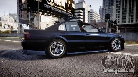 Maibatsu Vincent 16V Drift für GTA 4 linke Ansicht