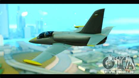 GTA 5 Besra für GTA San Andreas linke Ansicht