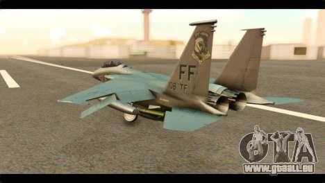 McDonnell Douglas F-15E Strike Eagle pour GTA San Andreas laissé vue