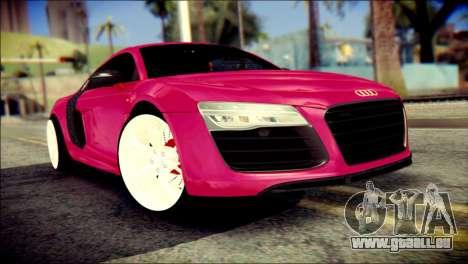 Audi R8 V10 Plus 5.2 FSI 2013 pour GTA San Andreas