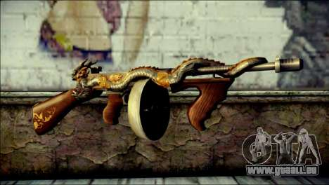 Thompson Infernal Dragon CrossFire pour GTA San Andreas