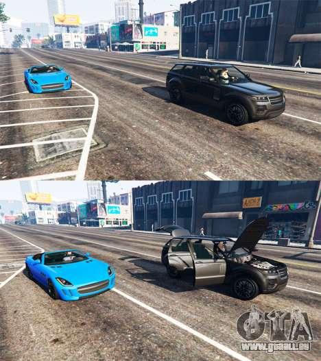 GTA 5 Tödlichen Auto-Tür dritten Screenshot