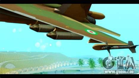 Sukhoi SU-34 IRIAF für GTA San Andreas rechten Ansicht