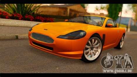 GTA 5 Dewbauchee Super GT für GTA San Andreas
