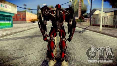 Stinger Skin from Transformers für GTA San Andreas zweiten Screenshot