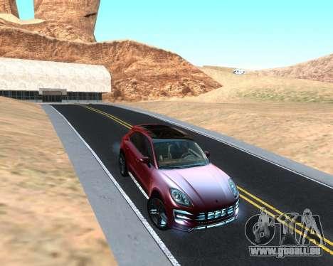 Porsche Macan Turbo für GTA San Andreas