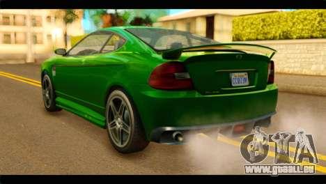 GTA 5 Bollokan Prairie IVF pour GTA San Andreas laissé vue