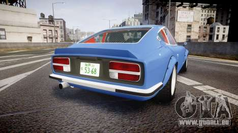 Nissan Fairlady Devil Z pour GTA 4 Vue arrière de la gauche