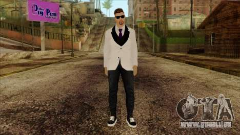 Skin 2 from GTA 5 pour GTA San Andreas