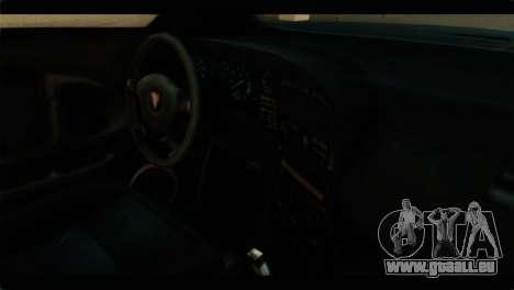 GTA 4 Habanero für GTA San Andreas zurück linke Ansicht