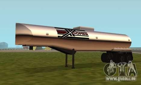 PS2 Petrol Trailer für GTA San Andreas