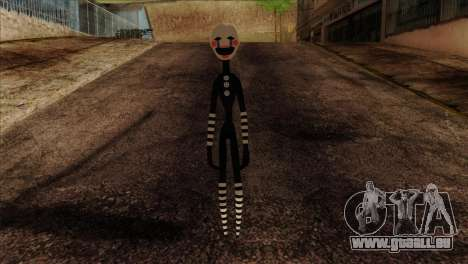 Puppet from Five Nights at Freddy 2 für GTA San Andreas
