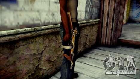 Thompson Infernal Dragon CrossFire pour GTA San Andreas troisième écran