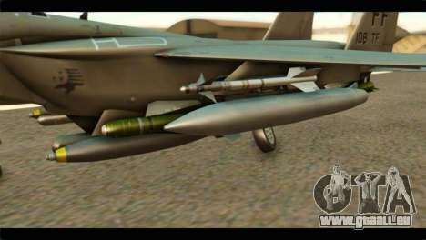 McDonnell Douglas F-15E Strike Eagle pour GTA San Andreas vue de droite