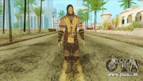 Mortal Kombat X Scoprion Skin für GTA San Andreas