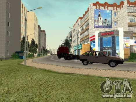Prostokvashino für GTA Criminal Russia beta 2 für GTA San Andreas sechsten Screenshot