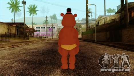 Toy Freddy from Five Nights at Freddy 2 für GTA San Andreas zweiten Screenshot
