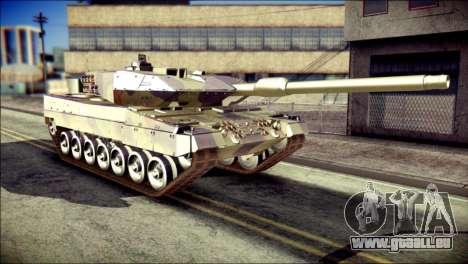 Leopard 2A6 für GTA San Andreas