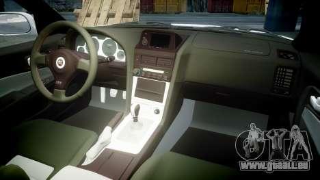Nissan Skyline R34 GT-R Mines für GTA 4 Seitenansicht