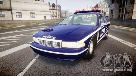 Chevrolet Caprice 1993 LCPD WH Auxiliary [ELS] pour GTA 4