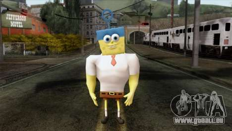 Spongebob as Mr.Invincibubble pour GTA San Andreas