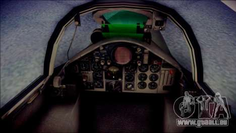 McDonnell Douglas F-4F Luftwaffe pour GTA San Andreas vue arrière