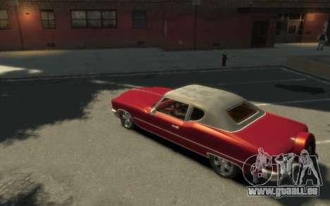 GTA 3 Yardie Lobo HD für GTA 4 linke Ansicht