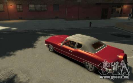 GTA 3 Yardie Lobo HD pour GTA 4 est une gauche
