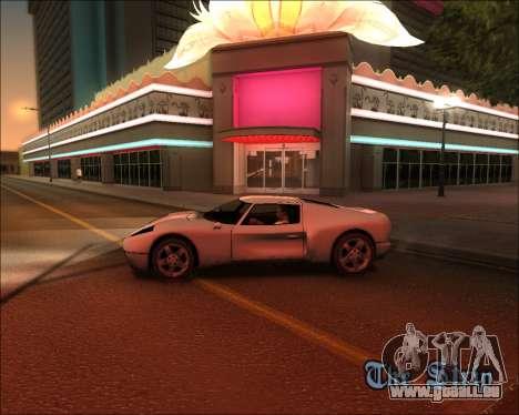 ENB Kiseki v1 pour GTA San Andreas deuxième écran