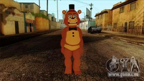 Toy Freddy from Five Nights at Freddy 2 für GTA San Andreas