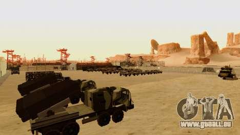 DLC 3.0 Militaire mise à jour pour GTA San Andreas sixième écran