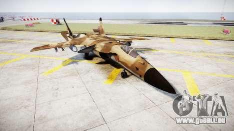 Su-47 Berkut desert für GTA 4