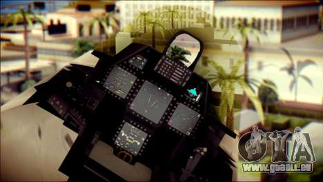 F-22 Gryphus, Falco and Antares für GTA San Andreas rechten Ansicht