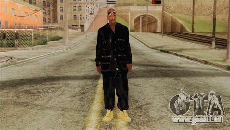 Tupac Shakur Skin v1 für GTA San Andreas