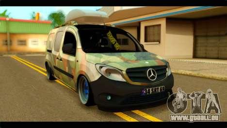 Mercedes-Benz Citan Stance für GTA San Andreas