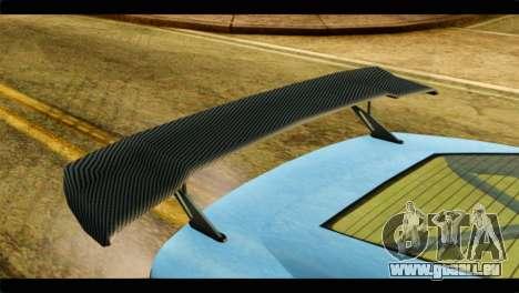 GTA 5 Ocelot F620 IVF für GTA San Andreas Rückansicht