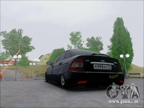 Lada Priora Hatchback pour GTA San Andreas vue de droite