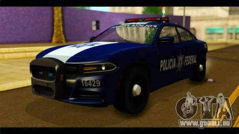 Dodge Charger 2015 Mexican Police pour GTA San Andreas