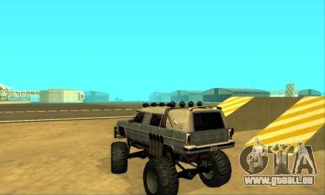 Hellish Extreme CripVoz RomeRo 2015 pour GTA San Andreas vue de dessous